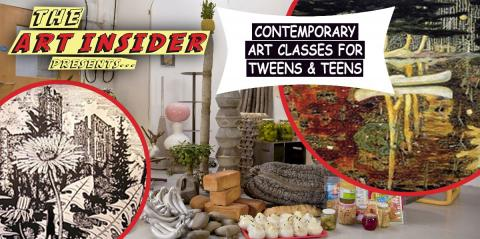 The Art Insider - Art Classes for Tweens and Teens