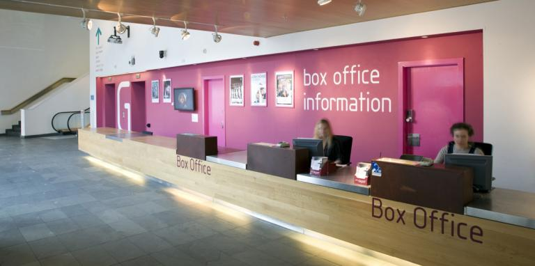 artsdepot's box office area