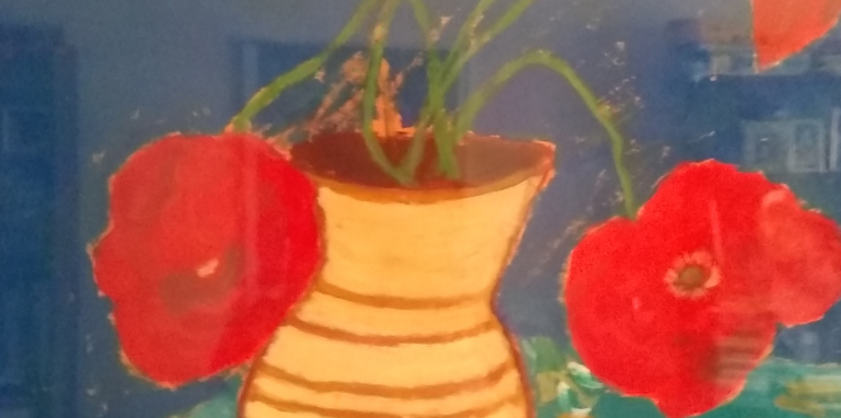 paintings of poppies