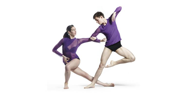 Photo of male and female dancer