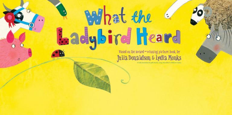 What The Ladybird Heard - title