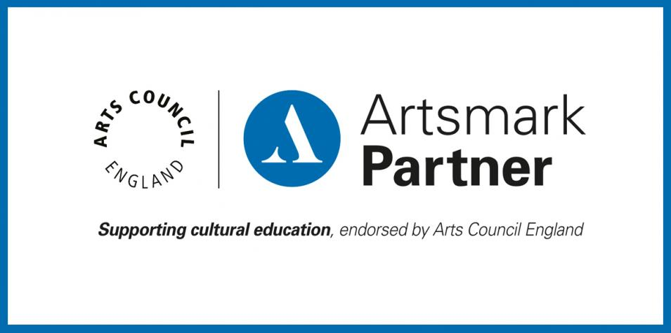 Artsmark Partner: Supporting Cultural Education, endorsed by Arts Council England