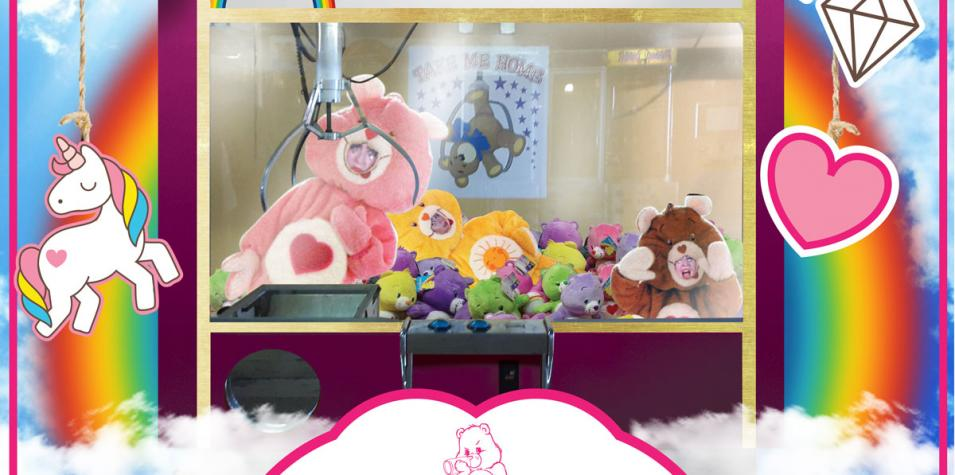 care bears in toy box