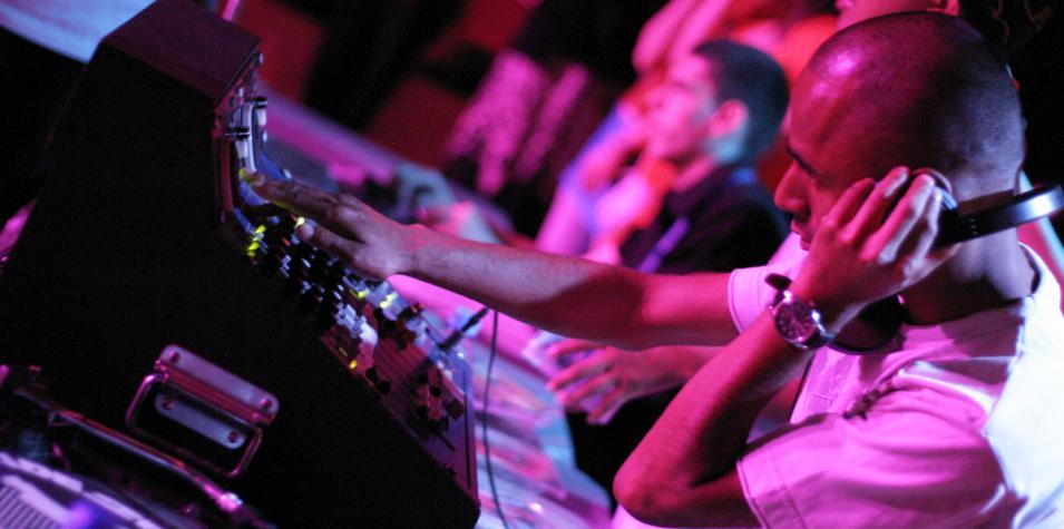 DJ at Clive