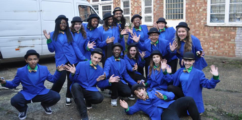 Street Arts Academy participants