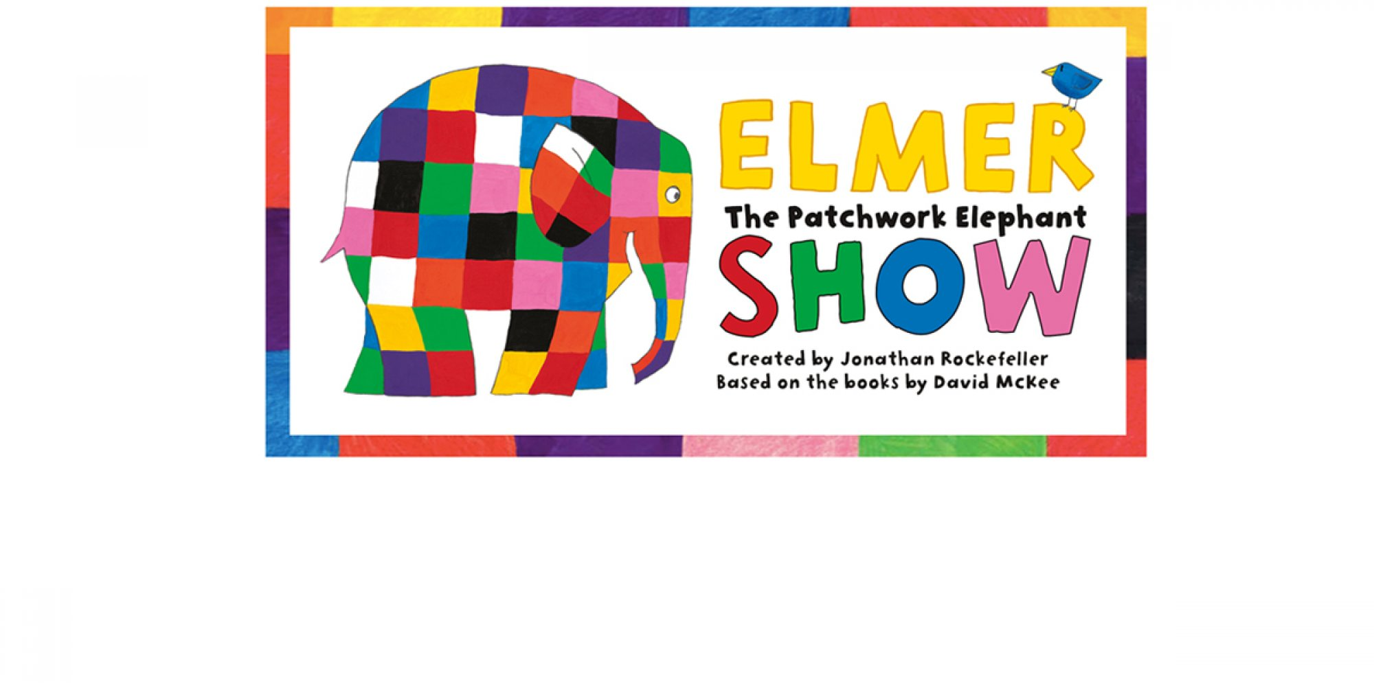 Elmer: a multicoloured patchwork elephant