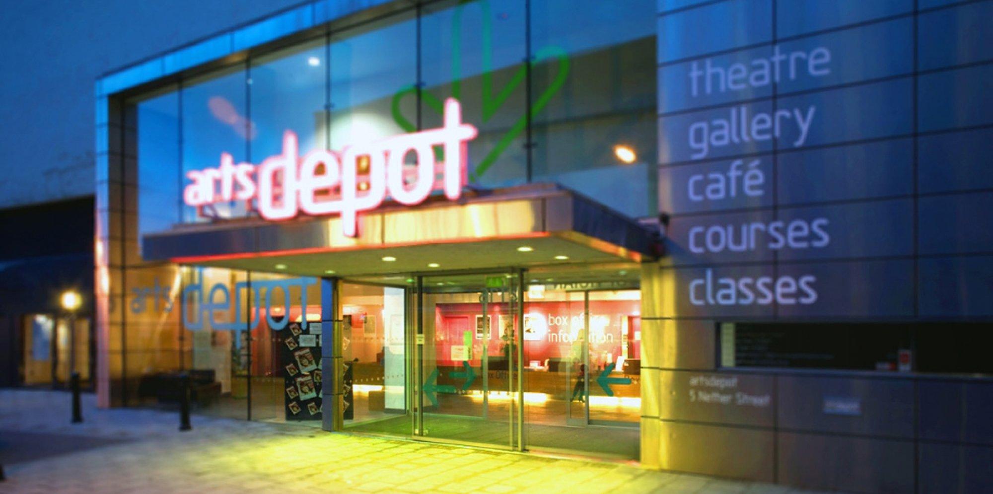 Image of exterior of artsdepot