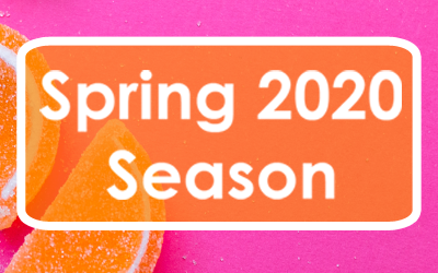 Spring 2020 Season on sale Wed 6 Nov