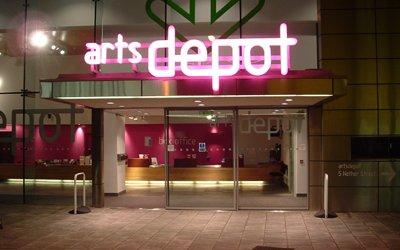 artsdepot's exterior.
