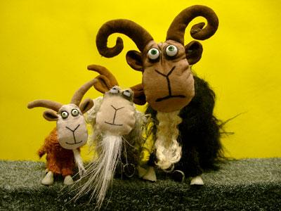 Three Billy Goats Gruff & Other Furry Tales