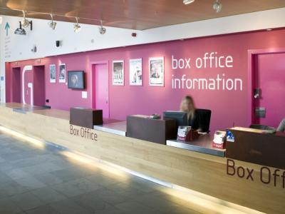 artsdepot's box office area