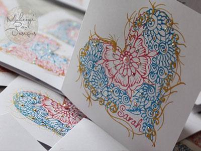 Examples of Moheeni Paul's art