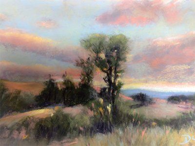soft pastel pastoral