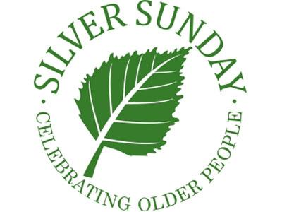 The logo for Silver Sunday, an event celebrating older people.