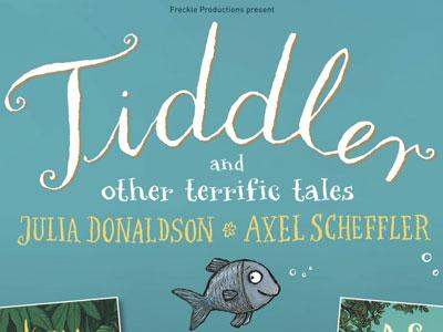 Tiddler book title illustration