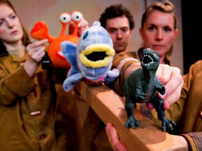 A photo from the children's theatre show Your Toys