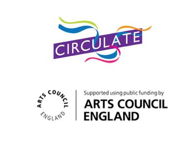 Circulate and Arts Council logos