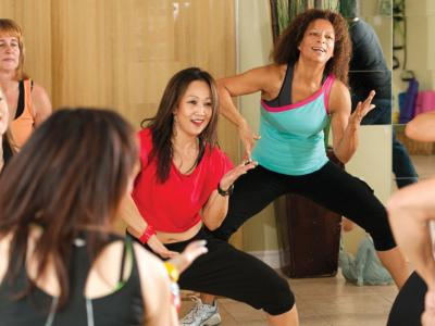Image of fitness class