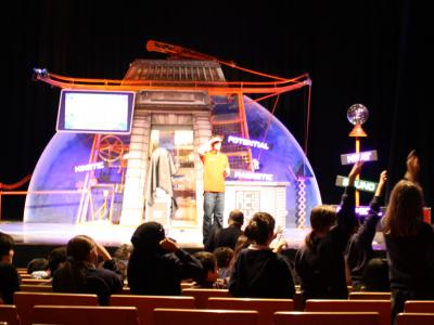 A show on the Pentland stage