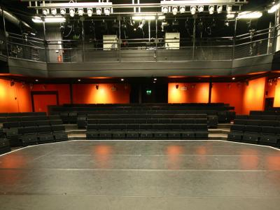 Studio Theatre stage and seating
